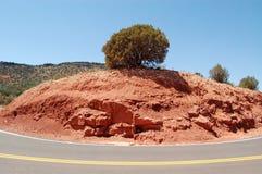 Estrada com a paisagem de Sedona Imagem de Stock Royalty Free