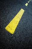 Estrada curvada Imagens de Stock Royalty Free