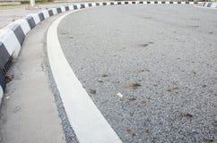 Estrada curvada Fotos de Stock Royalty Free