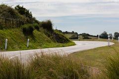 Estrada curvada Imagem de Stock Royalty Free