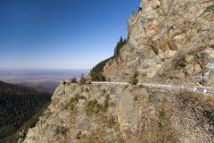 Estrada da alta altitude Fotografia de Stock