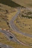 Estrada da alta altitude Fotos de Stock