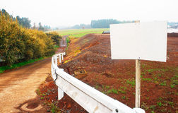 Estrada da argila Imagem de Stock
