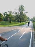 Estrada da bicicleta foto de stock royalty free