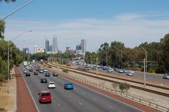 Estrada da cidade Fotografia de Stock