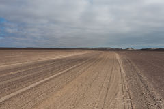 Estrada da costa de Skeleon Imagens de Stock Royalty Free