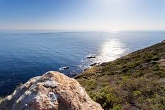 Estrada da Costa do Pacífico da rota 1 do estado do Oceano Pacífico - Califórnia, Califórnia Imagem de Stock
