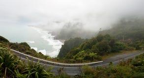 Estrada da costa oeste Imagem de Stock Royalty Free