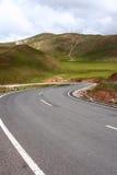 Estrada da curva Fotografia de Stock Royalty Free