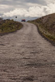 Estrada da estrada de Piilani após Hana Fotografia de Stock