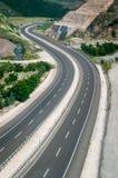Estrada da estrada de S Imagens de Stock Royalty Free