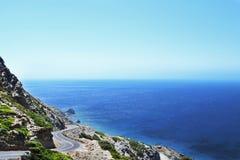 Estrada da ilha Imagens de Stock