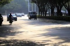 Estrada da manhã Foto de Stock