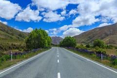 Estrada da mola Fotografia de Stock Royalty Free