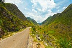 Estrada da montanha Foto de Stock
