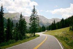 Estrada da montanha imagens de stock