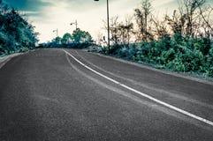 A estrada da montanha Fotos de Stock