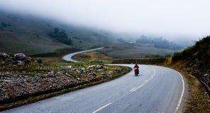 A estrada da montanha Fotografia de Stock Royalty Free