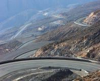 Estrada da montanha Fotografia de Stock Royalty Free