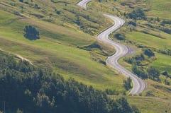 Estrada da montanha Foto de Stock Royalty Free