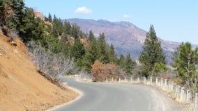 A estrada da montanha Imagem de Stock Royalty Free