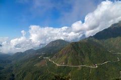 Estrada da montanha Fotos de Stock