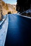 Estrada da montanha da queda Imagens de Stock Royalty Free