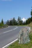 Estrada da montanha do enrolamento Imagem de Stock Royalty Free