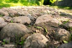 Estrada da pedra Fotografia de Stock