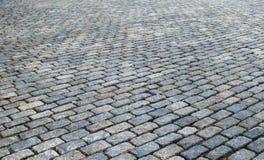 Estrada da pedra Fotos de Stock Royalty Free