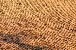 Estrada da pedra de Flandres - detalhe fotografia de stock royalty free
