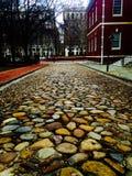 Estrada da pedra de Philadelphfia Fotografia de Stock