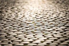 Estrada da pedra em Éstocolmo, Suécia Foto de Stock Royalty Free