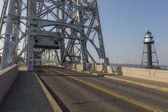 Estrada da ponte de elevador foto de stock