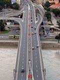 Estrada da ponte de SNP Fotos de Stock Royalty Free