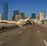 Estrada a Dallas Fotografia de Stock