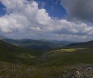 Estrada das montanhas Fotos de Stock