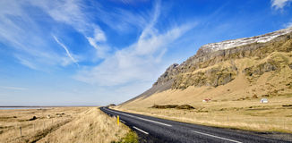 Estrada de anel de Islândia Imagens de Stock