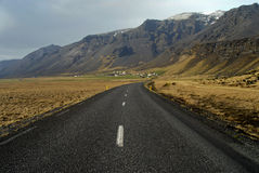 Estrada de anel Islândia imagens de stock royalty free