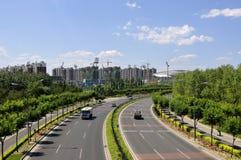 5a estrada de anel no Pequim Fotografia de Stock
