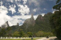 Estrada de Brasil Imagem de Stock