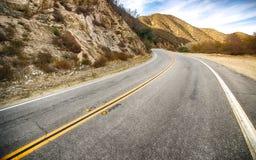 Estrada de Califórnia Fotos de Stock