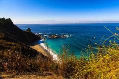 Estrada 1 de Califórnia Fotografia de Stock