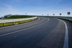 Estrada de canto Foto de Stock
