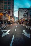Estrada de cidade Imagem de Stock