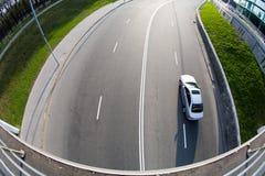 Estrada de cidade Imagem de Stock Royalty Free