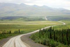 Estrada de Dempster Foto de Stock Royalty Free