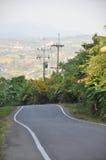 Estrada de enrolamento em Tailândia Imagens de Stock Royalty Free