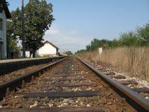 Estrada de ferro Imagem de Stock