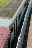 Estrada de ferro Imagens de Stock